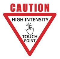 CleanForce Caution Sticker