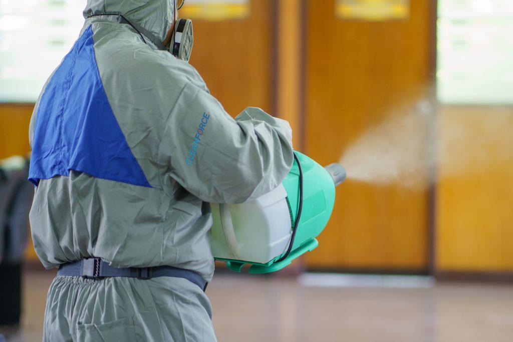 Fight Coronavirus Office Cleaning
