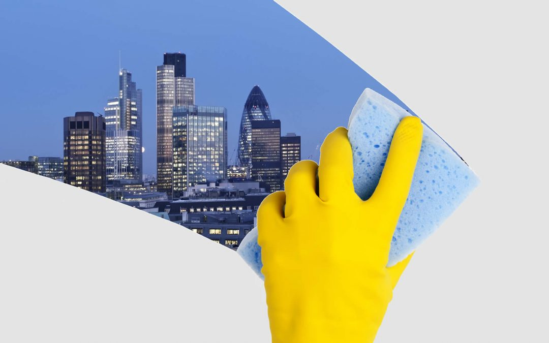 Demand for office cleaning in central London will rise with economic growth